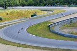 Fototapety Motorcycles on the racetrack.