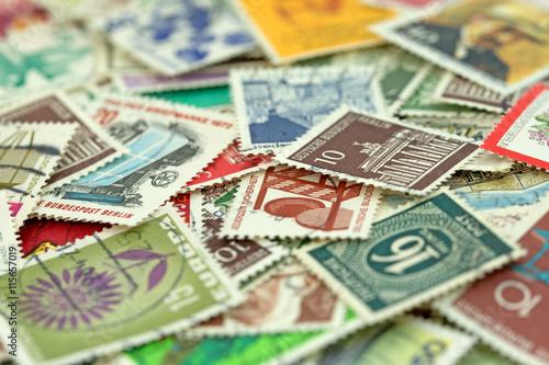 Billede Briefmarken, sammeln, Stamps
