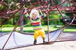 Little boy on a playground