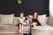 Detaily fotografie Children with pet