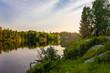 Sunset on Ontario Lake