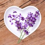 Fototapety Homöopathie und Kochen mit Heilkräutern, Lavendel