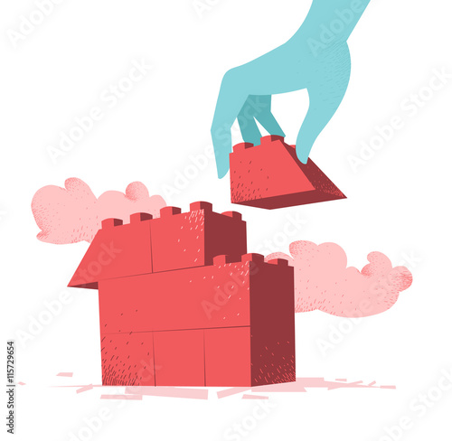 Costruzione di una casa buy photos ap images detailview - Costruzione di una casa ...