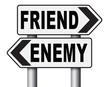 friend enemy best friends or worst enemies friendship.