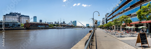 Foto op Canvas Buenos Aires Panoramic View of Puerto Madero - Buenos Aires, Argentina