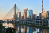 Fototapety Sao Paulo Estaiada Bridge Brazil