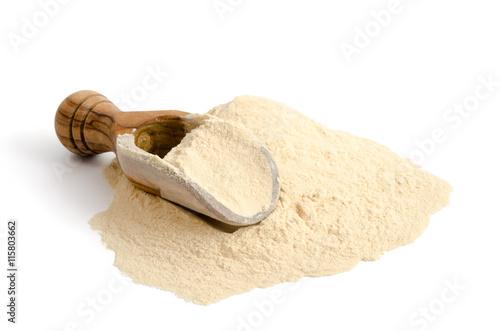 In de dag Baobab Schaufel mit Baobab-Pulver