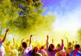dancing all the day! color run