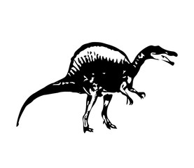 Dinosaurier design illustration