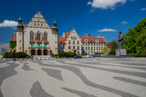 Poznan, Poland, University of Adam Mickiewicz, one of the oldest universities in Poland - 115829028