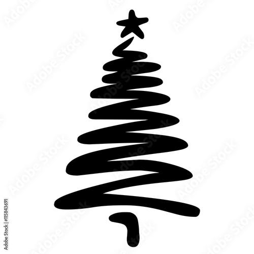 Gamesageddon Weihnachtsbaum Mit Ein Paar Schnellen Linien Locker