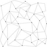 scandinavian geometric modern seamless pattern