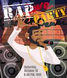 Rap Concert Poster