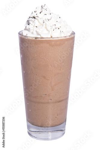 Deurstickers Milkshake Chocolate Chai Milkshake