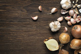 Garlic and onions - 115894899