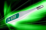 Electronic body thermometer