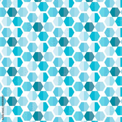 fototapeta na ścianę Geometric seamless with line Black background