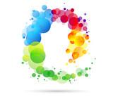 sfondo, cromoterapia, spirale, colori forme, arte - 115935253