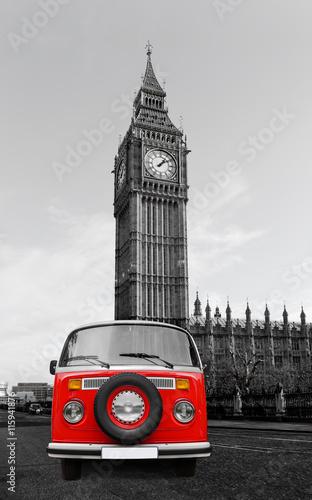 London mit Bulli