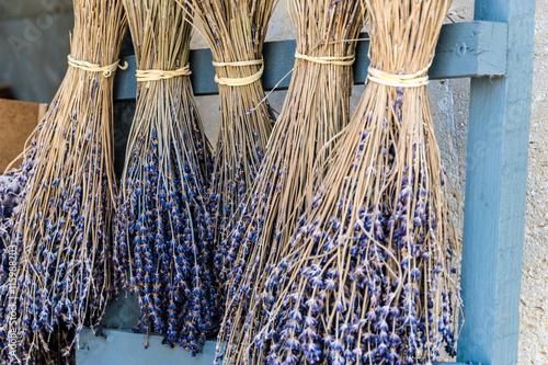 obraz lub plakat Getrocknete Lavendelzweige