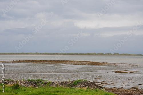 Poster plage de sable fin et cotes irlande
