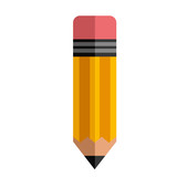 pencil object icon
