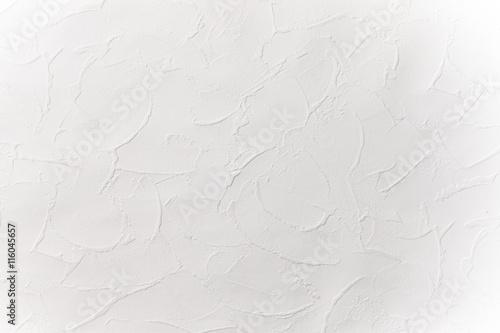 白い漆喰壁の模様  Design of the white wall