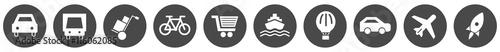 Tapeta Verkehr & Logisitk Icons