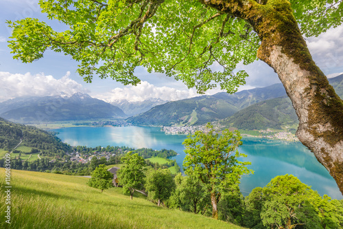 Fototapety, obrazy : Zell am See, Salzburger Land, Austria