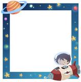 marco niño del espacio