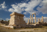 Remnants of Temple of Hercules in Amman Jordan