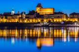 Torun Cathedral at night, Poland