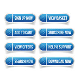 Call-To-Action Buttons vector