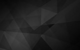 Abstract dark polygonal mosaic background - 116219403
