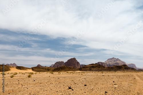 Poster  Wadi rum desert  landscape, Jordan