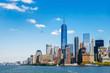 New York City panorama with Manhattan Skyline..