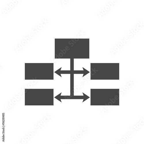 Flow Chart Icon Vector Buy Photos Ap Images Detailview