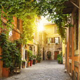 View of Old street in Trastevere in Rome © Frédéric Prochasson
