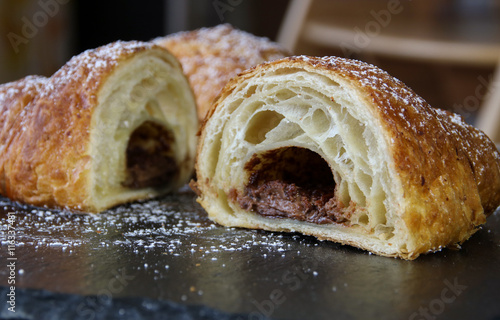 Poster Nuss-Nougat-Croissant