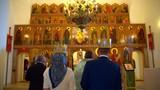 Orthodox wedding in the Church