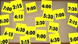 Overbooked Too Many Appointments Schedule Times 3d Animation