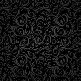 Black stylized pattern