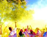 fantastic dancing! color run
