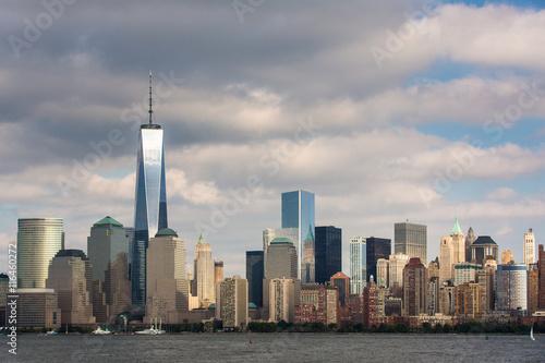 Foto op Aluminium Toronto A view of Lower Manhattan from Liberty State Park