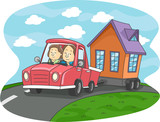 Mobile Home Couple
