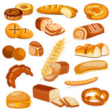 Bakery Product Food Collection
