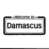 Welcome to Damascus City illustration design