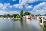 The town of Kingston Upon Thames in south west London  - 116538025