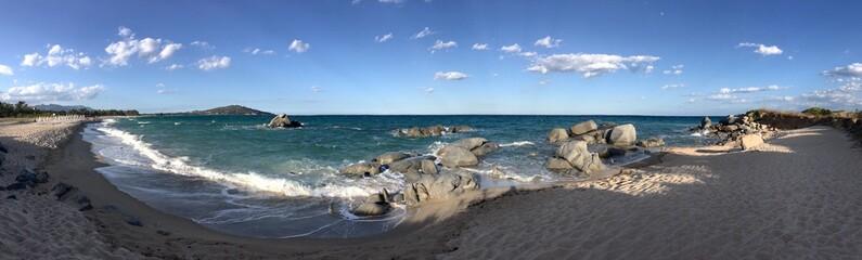 Fototapeta plaża w Sardynii