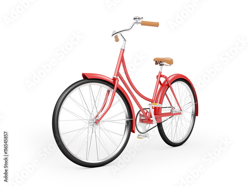 Aluminium Fiets red bicycle vintage